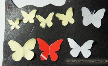 Метелики на стіні