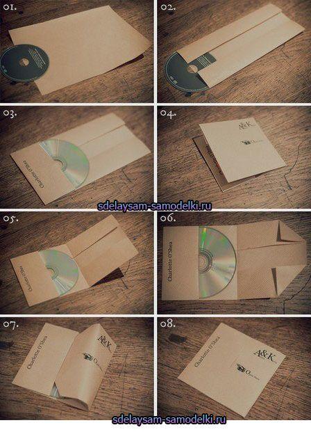 Паперова упаковка для дисків