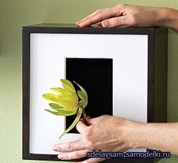 Робимо оригінальну настінну вазу для квітів