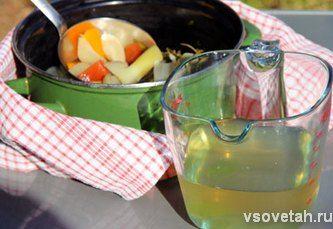 Дієтичний овочевий бульйон