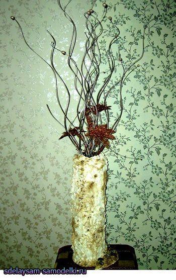 Гіпсова ваза