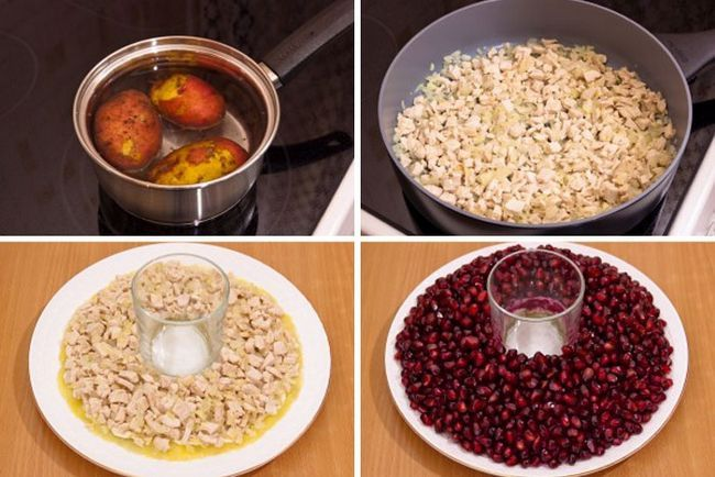 Гранатовий браслет салат класичний рецепт