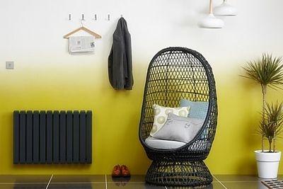 Ідеї для інтер`єру: стиль омбре на стінах, меблях, текстилі (фото + відео)