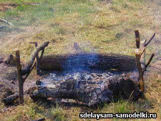Як побудувати мангал на природі