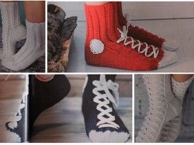 Як в`язати шкарпетки гачком