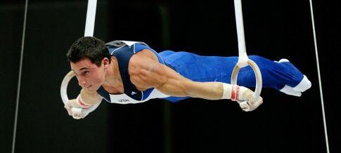 гімнастичні кільця