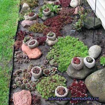 Камені в саду