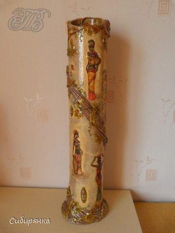Красива підлогова ваза