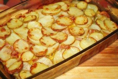 Літній рагу зі свіжих овочів з беконом