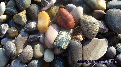 Магнітики з морських камінців