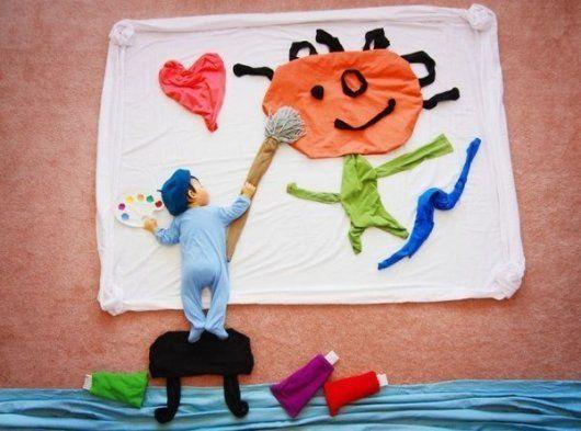 Мама створює справжню казку, поки її син спить