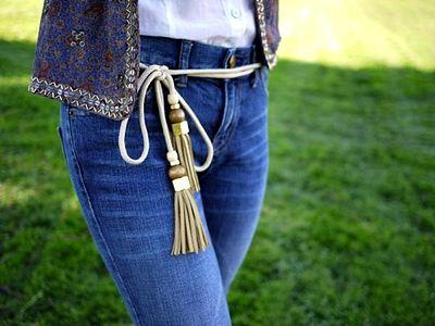 Майстер-клас: стильний пояс (ремінь) до джинсів