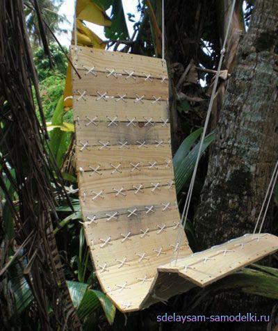 Робимо дерев`яне крісло-гамак