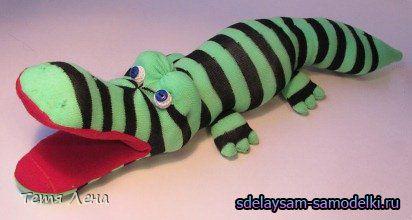 М`яка іграшка з носка