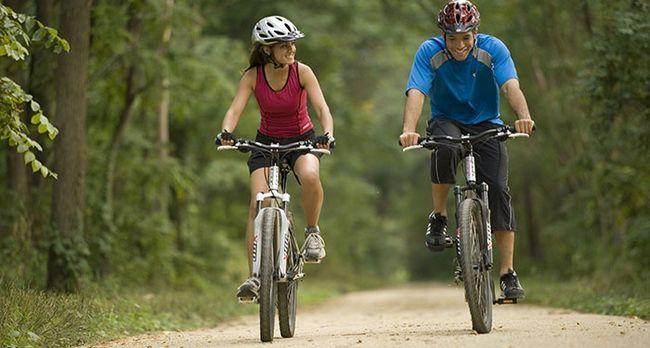 Чи можна схуднути, катаючись на велосипеді
