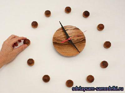 Незвичайні настінні годинники. Годинники в стіні