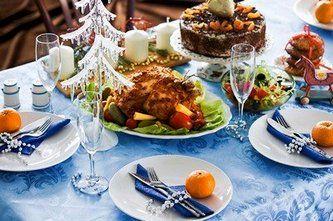Новорічна їжа: святкування зустрічі 2015 року