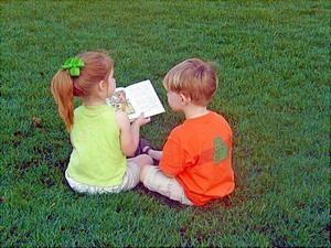 Навчання малюків розповідання
