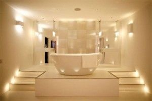 Освітлення у ванній кімнаті