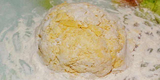 Пиріг з пісочного тіста