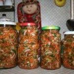 Приправи на зиму з овочів