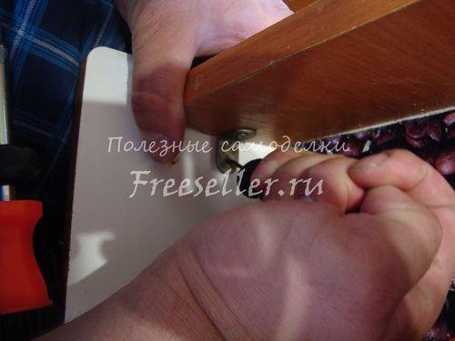 Ремонтуємо меблевий ящик самі