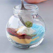 Малюнки з піску і солі