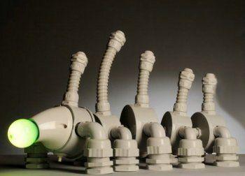 Роботи у вигляді ламп