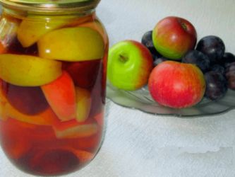 Шість рецептів приготування компоту з фруктів зі свого саду