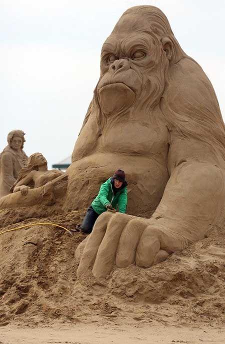 Скульптури з піску