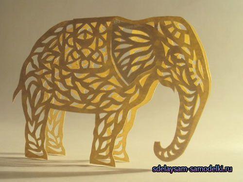 Слоник з паперу