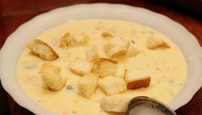 Сирний суп-крем