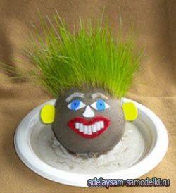 Травянчик - іграшка з якою росте трава