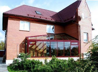 Пристрій опалення та вентиляції зимового саду в приватному будинку