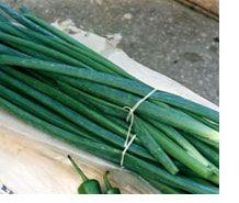 Зелена цибуля. Перші вітаміни року